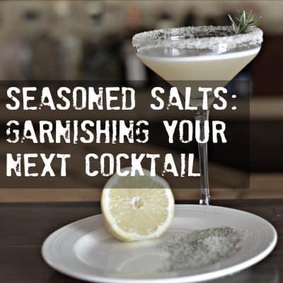 Easiest Way to Make Seasoned Salt & Sugar Rims for Cocktails