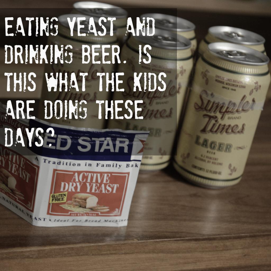 Eating Yeast Before Drinking Beer