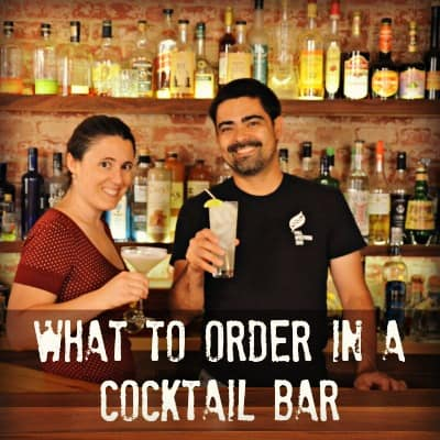 what to order in a cocktail bar mixologytalk podcast