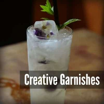 Creative Ideas for Cocktail Garnishes