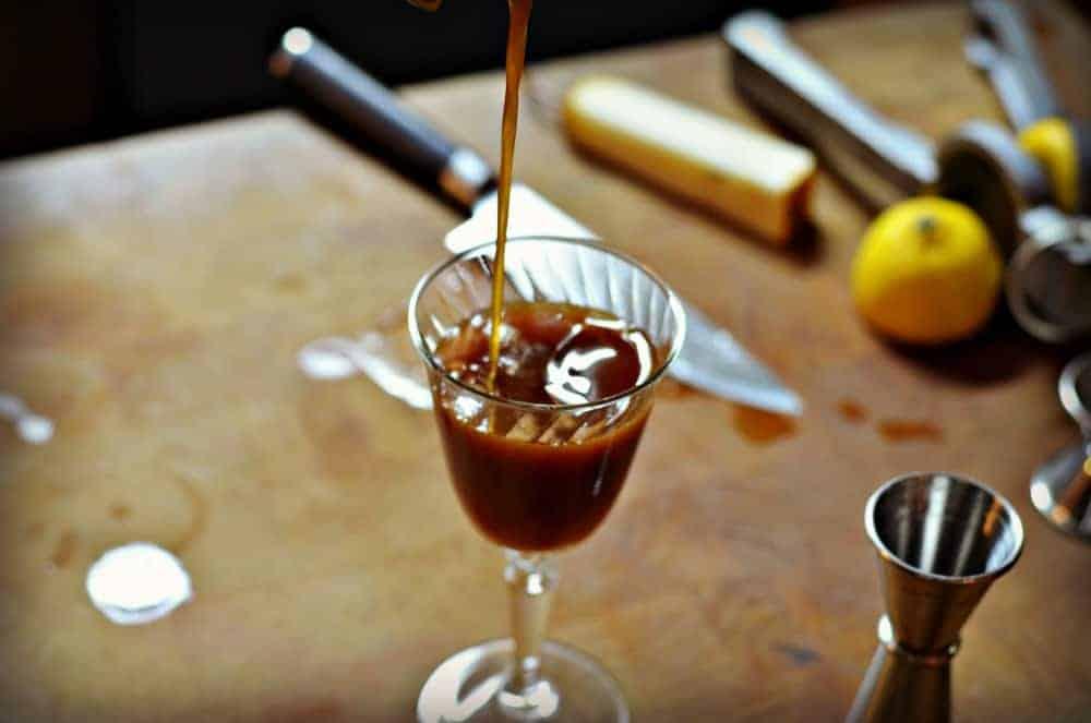 Pear Shim Cocktail