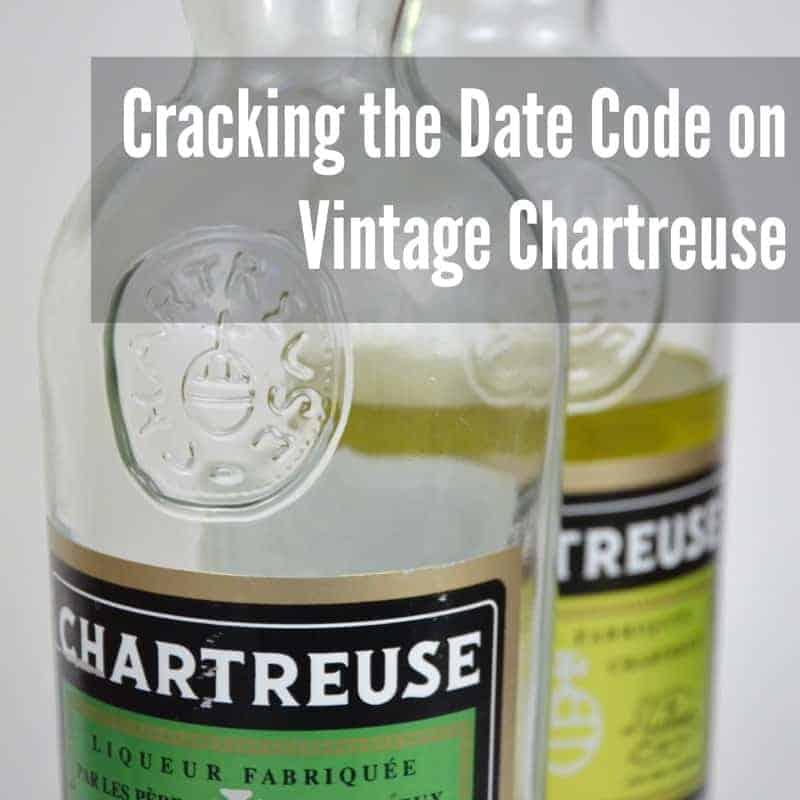 cracking the date code on vintage chartreuse a bar above