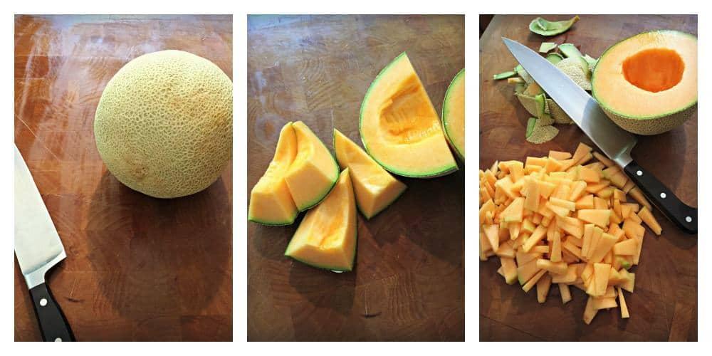 Chopping the Melon