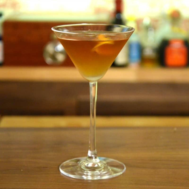The Martinez Cocktail