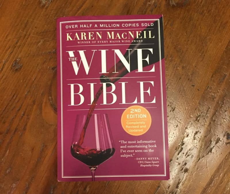The Wine Bible – A Bartenders Guide to Wine