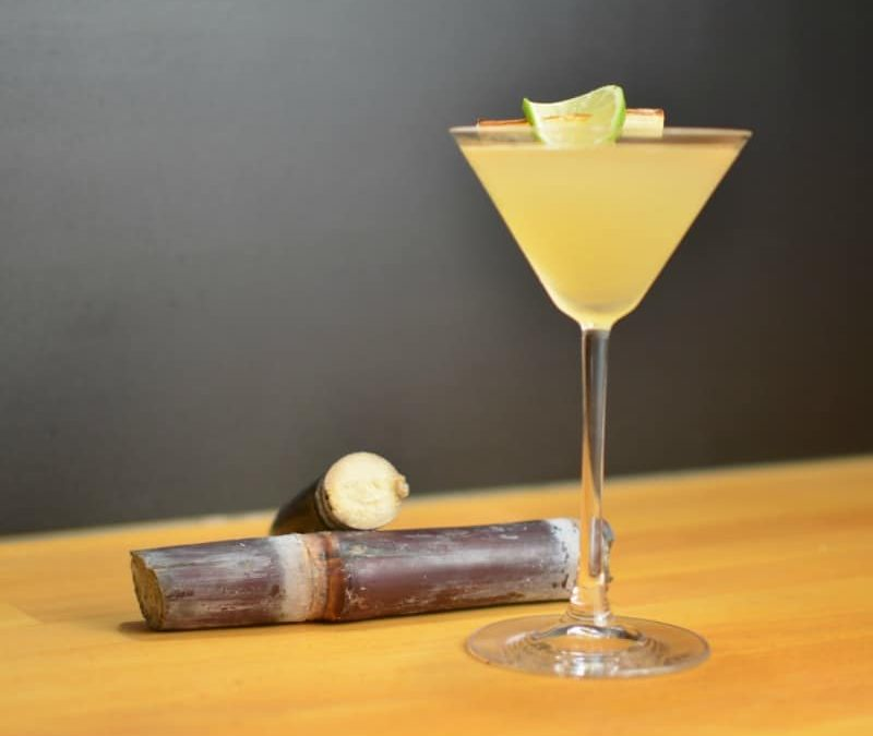 Roasted Sugarcane Daiquiri