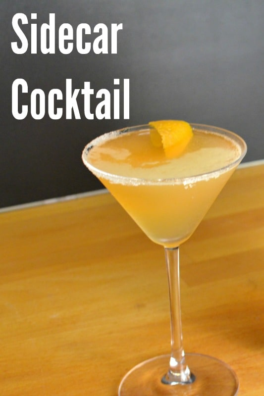 sidecar print recipe this is almost the classic sidecar cocktail but ...