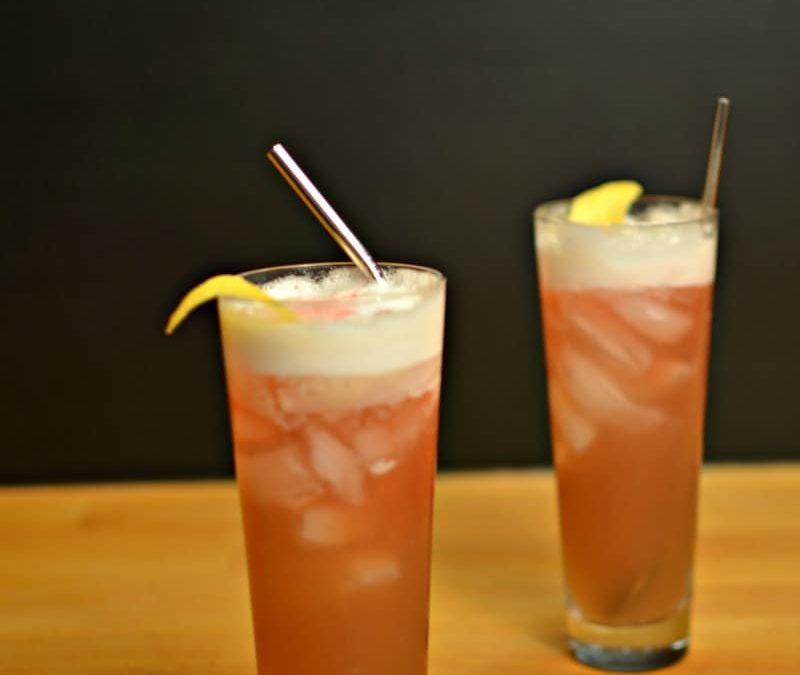 Raspberry Whiskey Sour