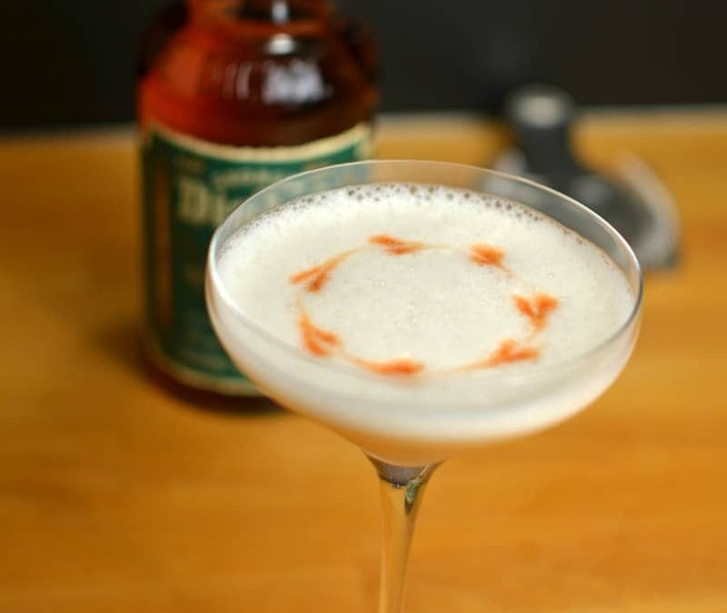 Whiskey Melon Sour