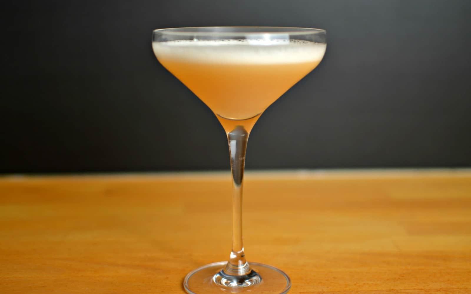 Whiskey Melon Sour • A Bar Above