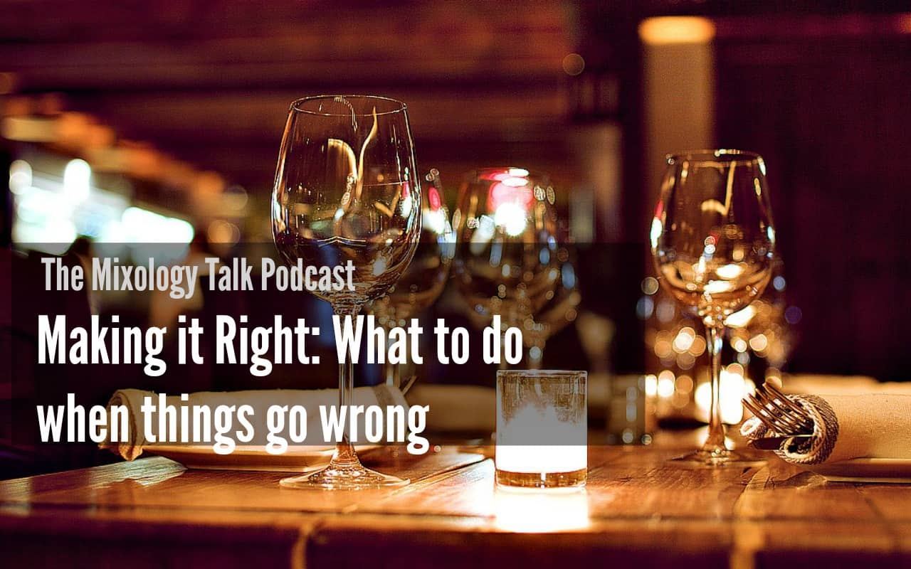 Making it Right: What to do when Things go Wrong