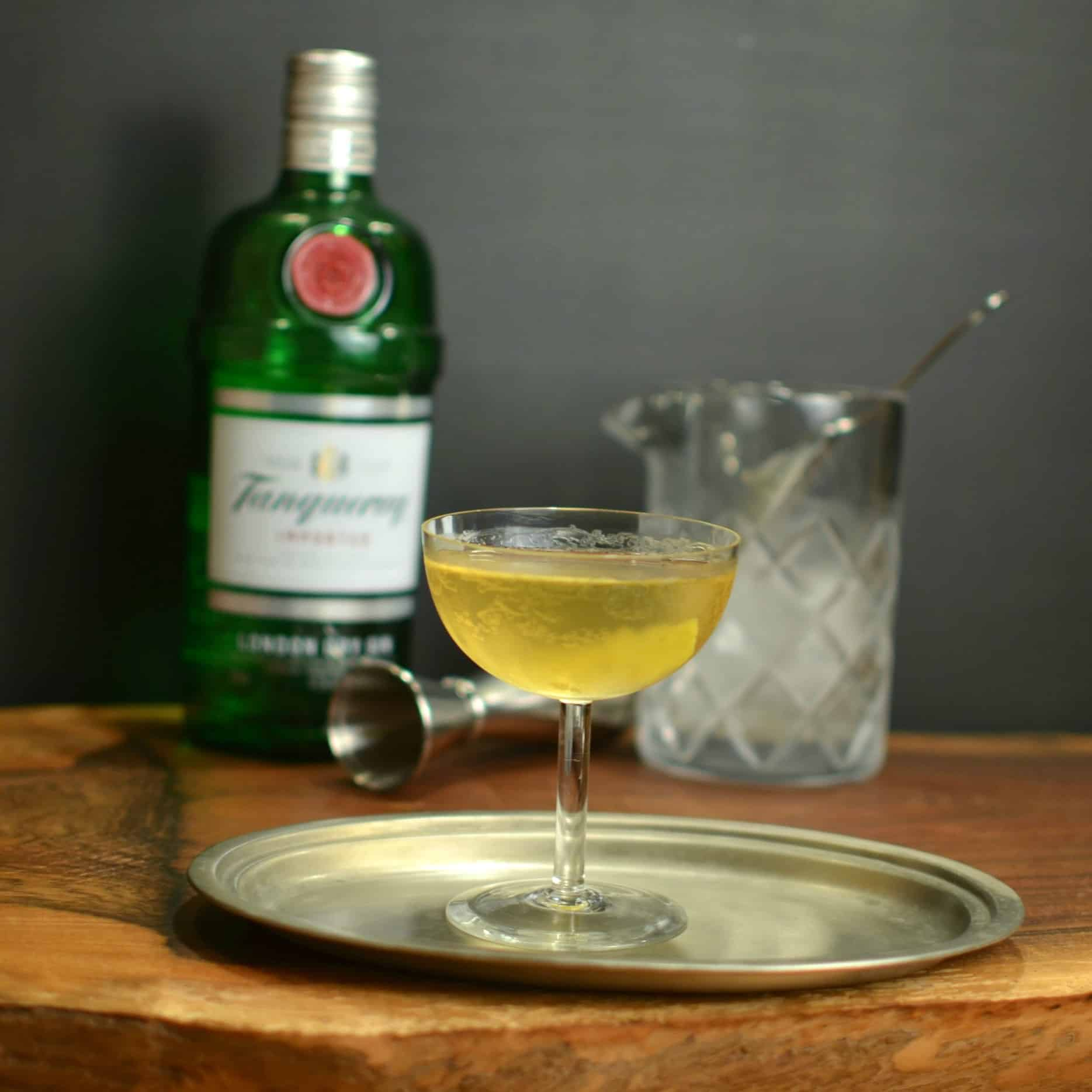 Classic Gin Martini • A Bar Above